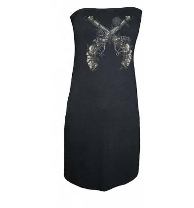 GUNS & ROSES dámské šaty