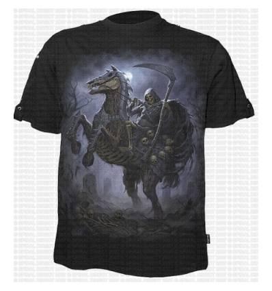 Tričko PALE RIDER - Vyhrnovatelný rukáv
